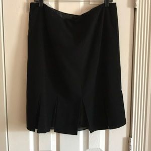 Dresses & Skirts - Black suit skirt